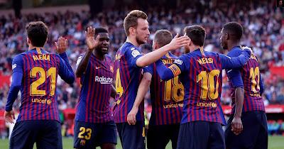 فريق برشلونة 2020