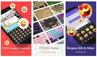 Aplikasi Keyboard Keren Dan Ringan Untuk Android Terbaru