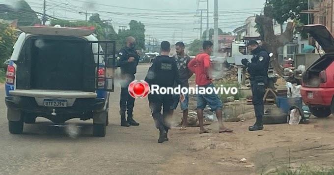 COCAÍNA: Após abordagem a veículo, polícia prende dois por tráfico de entorpecentes