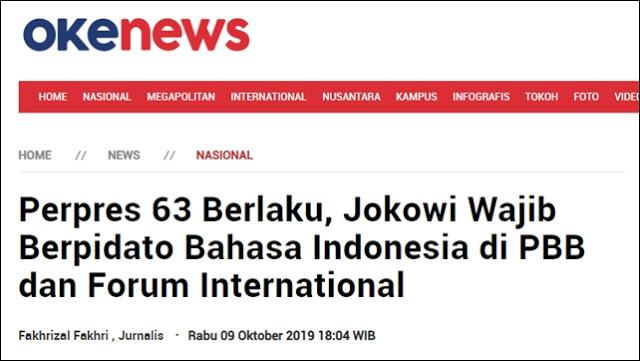 Lucu, Jokowi Membuat Perpres untuk Dirinya Sendiri