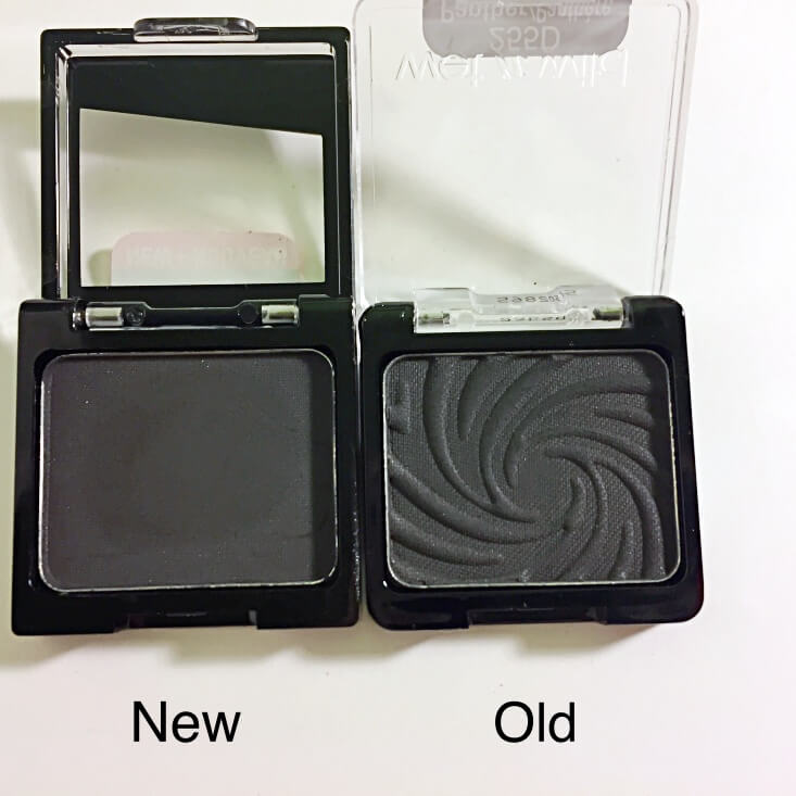 wet n wild coloricon Eyeshadow Single old vs new Panther