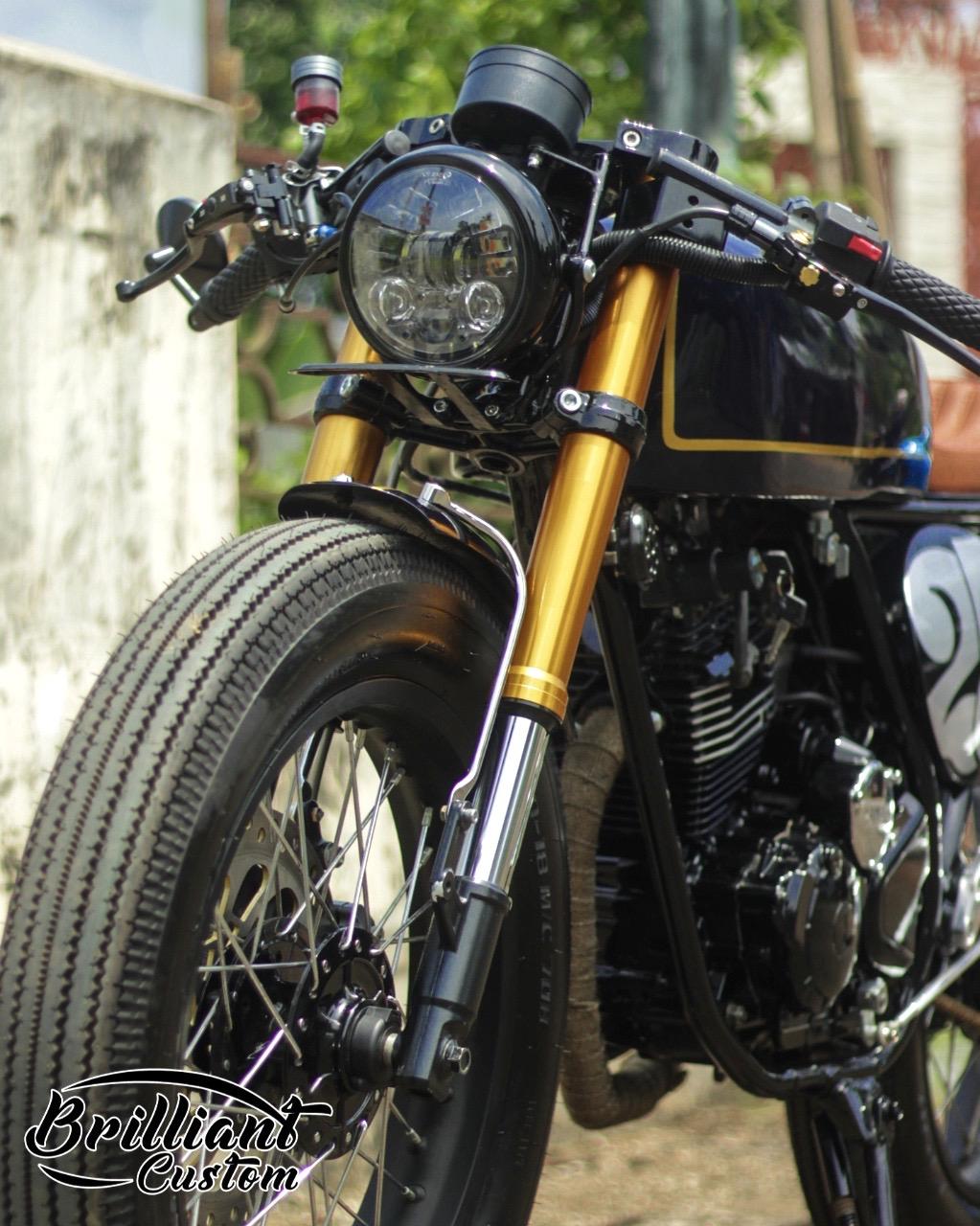 Identik Simple dan Elegan - Yamaha Scorpio 225 Cafe Racer 1