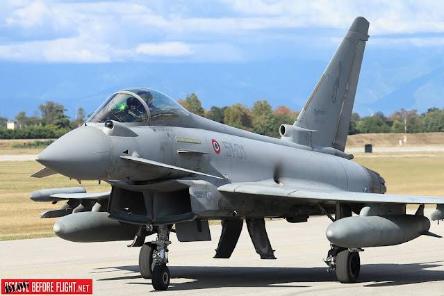 Italy UK development Eurofighter radar