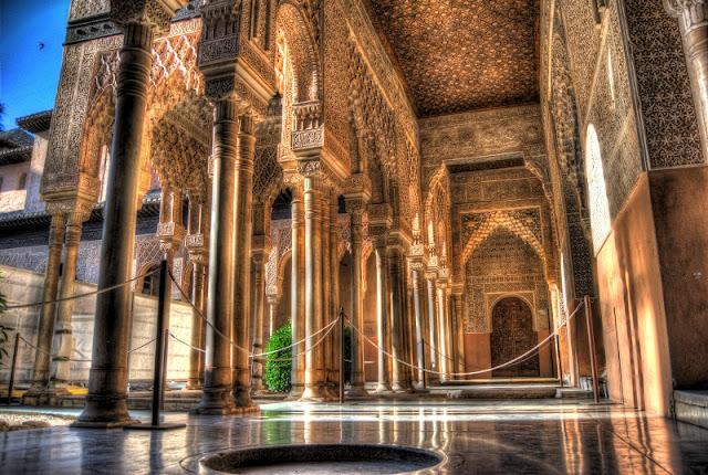 Patio de los Leones na Alhambra