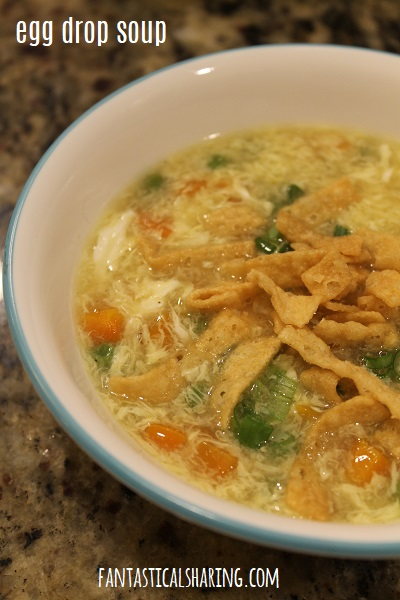 Egg Drop Soup #recipe #soup #egg #maindish