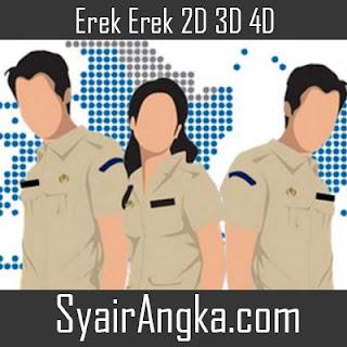 Erek Erek Menjadi Birokrat 2D 3D 4D