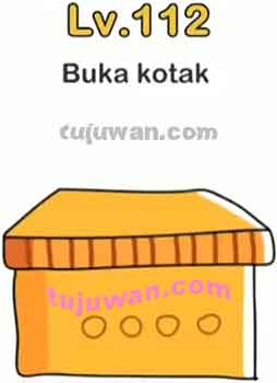 Brain Out : Buka Kotak Jawaban Brain Out di Level 112