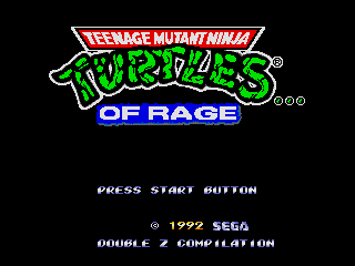 teenage mutant ninja turtles of rage