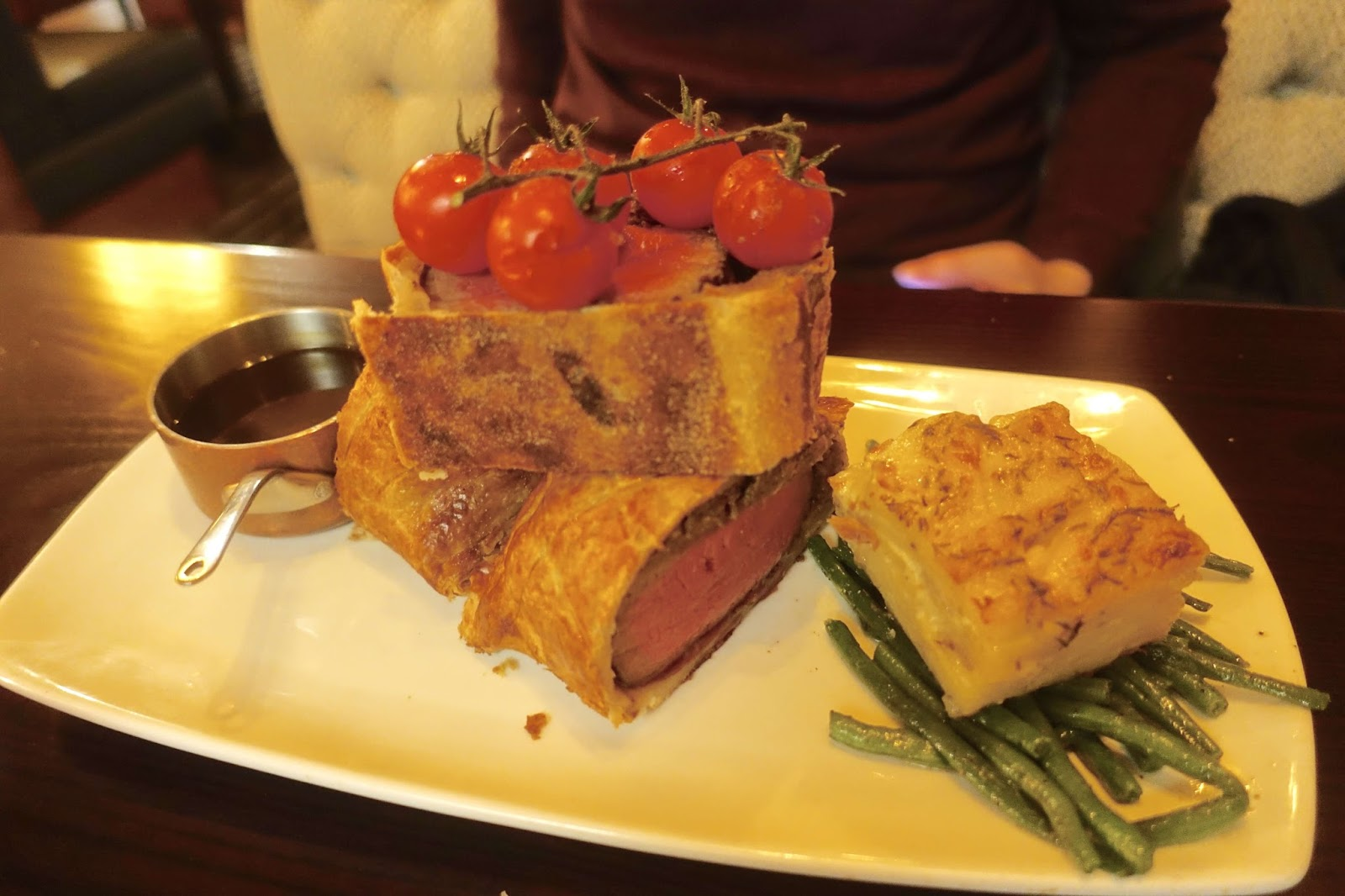 beef wellington for one