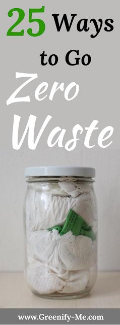 25 Ways to Go Zero Waste