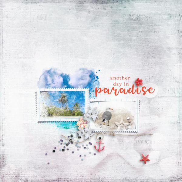 another day in paradise © sylvia • sro 2019 • tropical feeling by lara's digi world