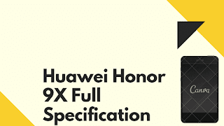 Huawei Honor 9X Full Specification
