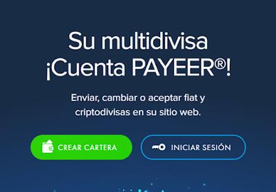 Pagina de Payeer