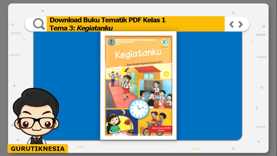 download buku tematik pdf kelas 1 tema kegiatanku