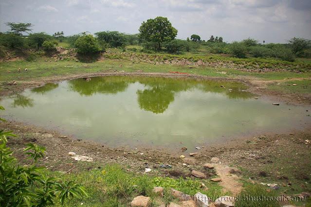 Ponmar Sathyapureeswarar Temple tank