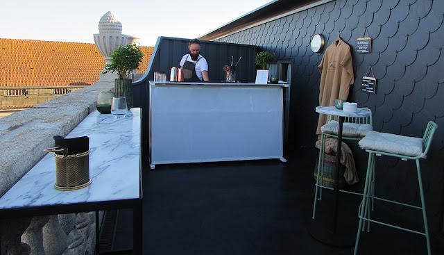 Auru Rooftop Bar do Hotel Pestana Goldsmith Porto