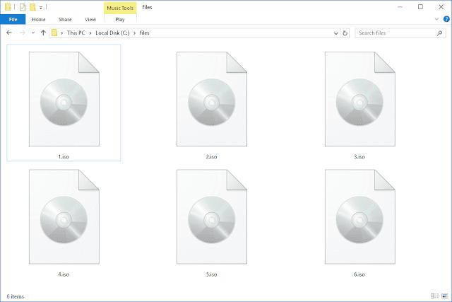 Cara Instal File ISO di Windows 7 Tanpa Burning CD atau Mount File ISO