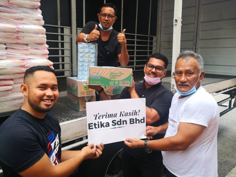 Etika Extends A Supportive Hand For Malysia's Flood Victims