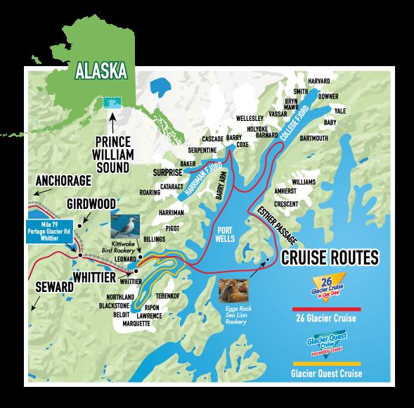 Alaska Glaciers Tour