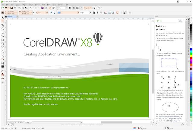 Download CorelDraw Grapichs Suite X8 Full - Blogger