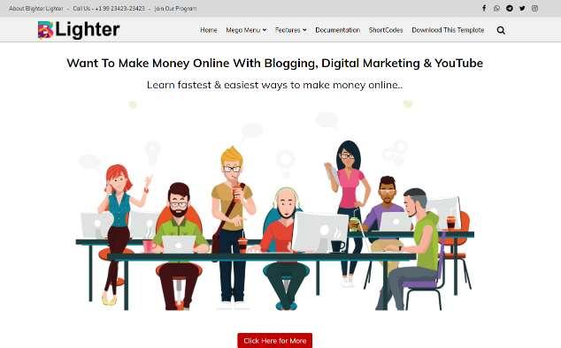 Blogger Template BLighter