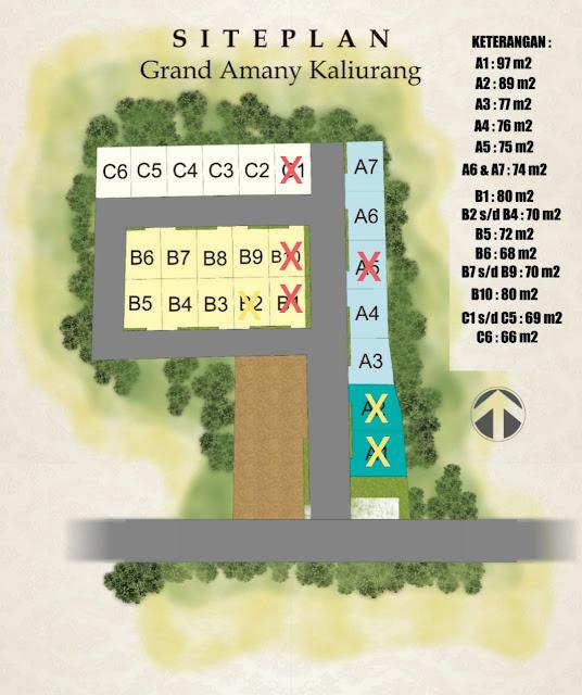Wahyu 085258777560 Siteplan Grand Amany Kaliurang Jember