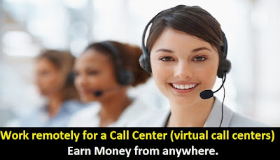How to work remotely for a call center (virtual call centers)