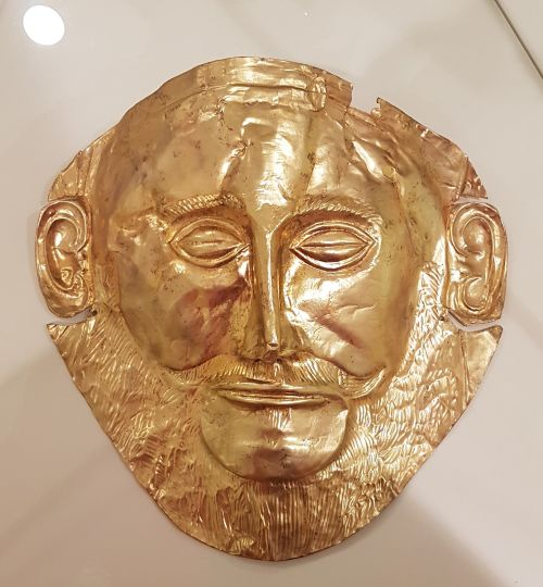 Goldene Maske des Agamemnon