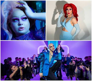 Alice Rabbit, Lady Rampant and a still from Everybody's Talking About Jamie