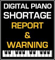 Digital Piano Shortage - Report