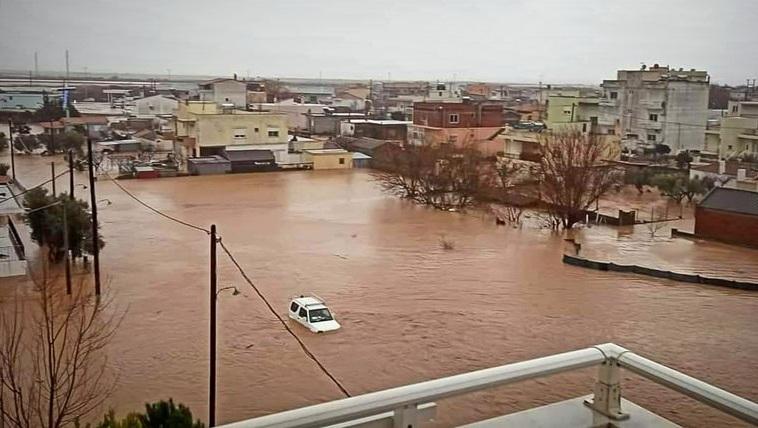 """ΑΝΤΑΡΣΙΑ στην ΑΜΘ για τις καταστροφικές πλημμύρες: """"Θλιβερό τοπίο η θανατοπολιτική τους"""""""