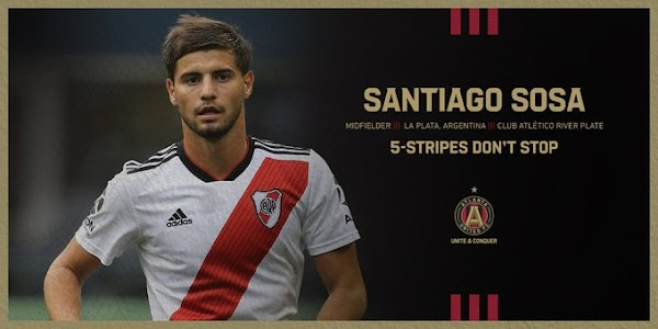 Oficial: Atlanta United, firma Santiago Sosa