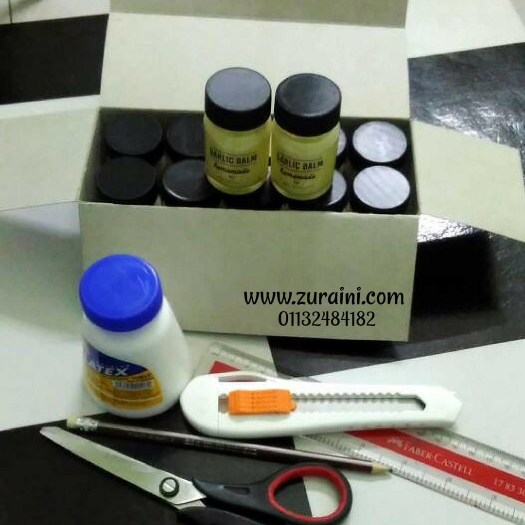 DIY KOTAK UNTUK PRODUK - MUDAH & JIMAT KOS (TAK SAMPAI RM1)