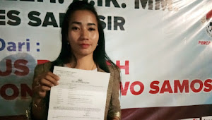 Merasa Dilecehkan, Srikandi Ayu PP Siska Ambarita Lapor ke Polres Samosir