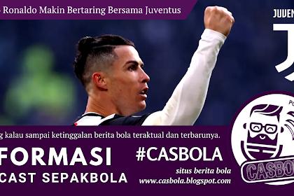 Cristiano Ronaldo Semakin Memukau Bersama Juventus