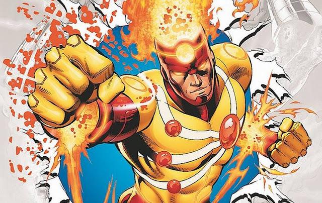Superhero Berkekuatan Api dari DC Comics