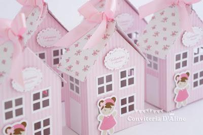 lembrança festa casinha de boneca