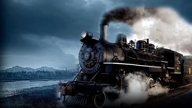 background train wallpaper
