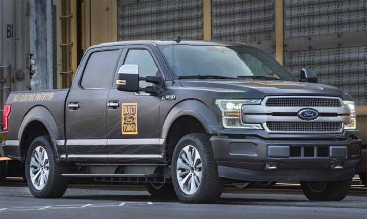 Xe bán tải Ford F-150 sẽ có phiên bản điện