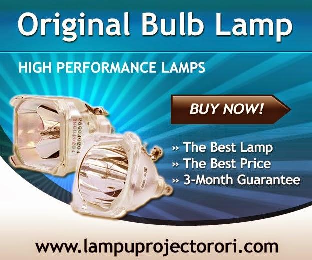 Lampu projector tanpa cangkang