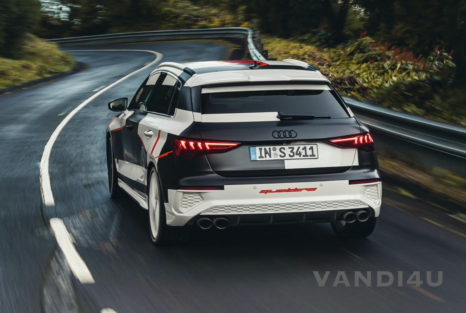 2021 Audi A3 Sportback Has a Wheel Selective Torque Control   VANDI4U