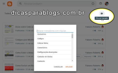 ver postagens por marcador do blog
