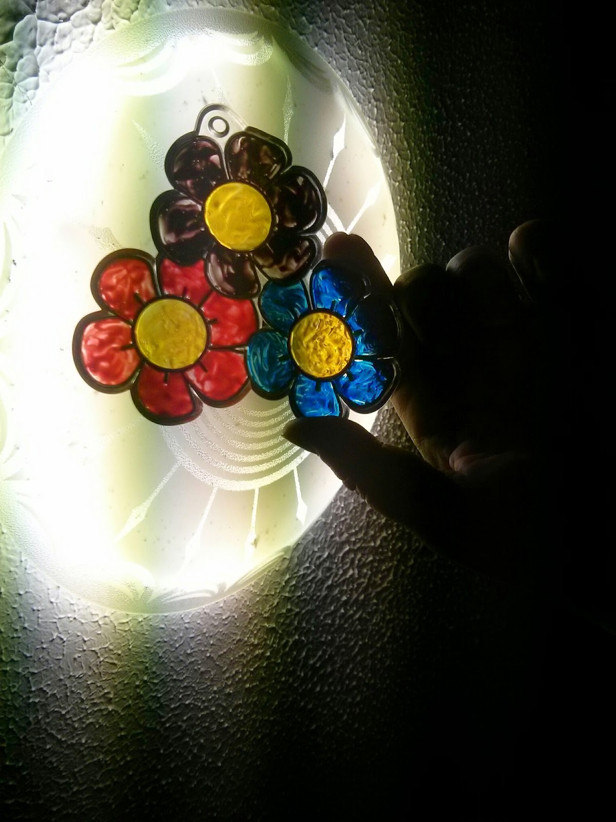 Suncatchers from Hobbycraft