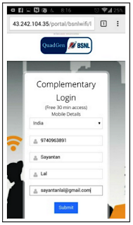 Steps to Access QFI-BSNL WiFi Services-5