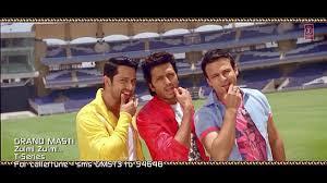 Zulmi Zulmi Grand Masti Full Song | Riteish Deshmukh, Vivek Oberoi, Aftab Shivdasani HD 1080p Music Video Free Download