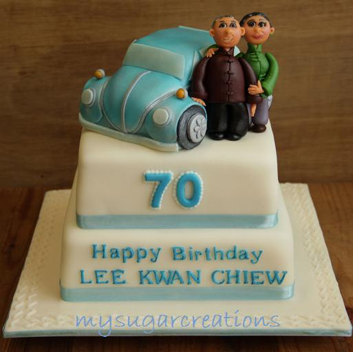 My Sugar Creations 001943746 M Volkswagen 70th Birthday