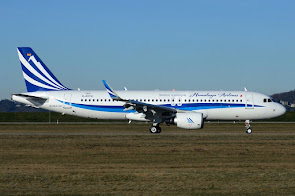 1st A320 for Himalaya Airlines
