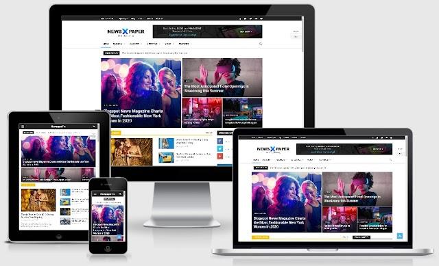Viospaper Pro, Template Blogspot Gaya Majalah Rasa WordPress
