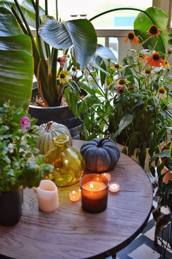 Our Porch Refresh: The Power Of Paint- #fall #candles #porch-designaddictmom