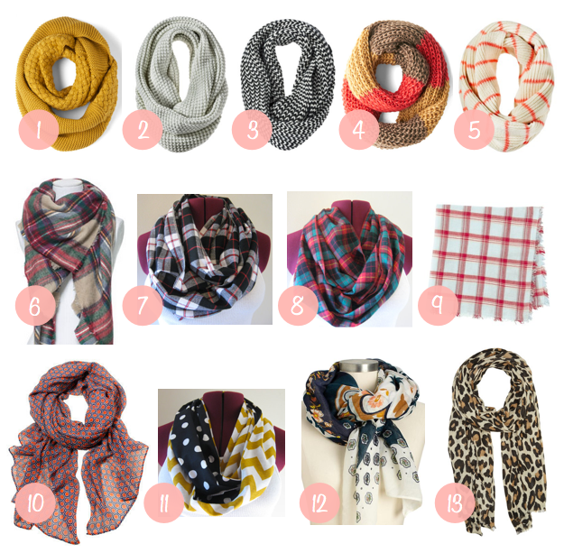 Putting Me Together: Fall Shopping: Scarves
